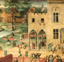 Children's Games  by Pieter the Elder Bruegel