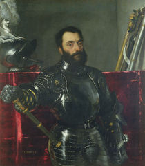 Portrait of Francesco Maria Della Rovere by Titian