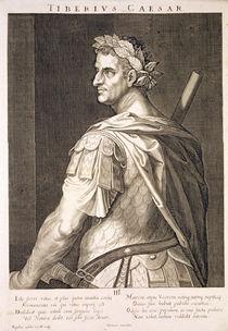 Tiberius Caesar  von Titian
