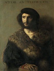 An Invalid by Titian