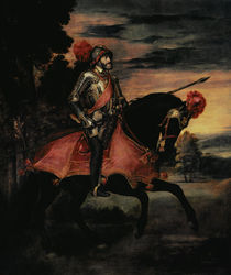 The Emperor Charles V  by Titian