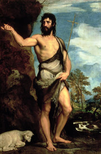 St. John the Baptist  by Titian