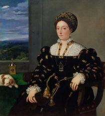 Portrait of Eleonora Gonzaga della Rovere von Titian