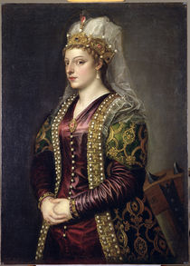Portrait of Caterina Cornaro  von Titian
