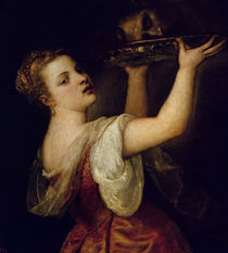 Salome Carrying the Head of St. John the Baptist von Titian