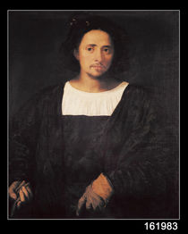 Man with a Glove von Titian