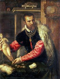 Jacopo Strada  by Titian