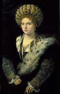 Portrait of Isabella d'Este  von Titian