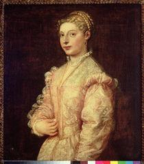 Portrait of Lavinia Vecellio  von Titian
