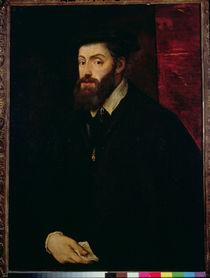 Portrait of Charles V  von Titian