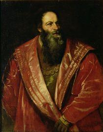 Portrait of Pietro Aretino  von Titian