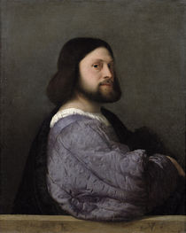 Portrait of a Man von Titian