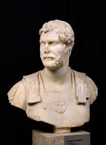 Bust of Emperor Hadrian  by Roman