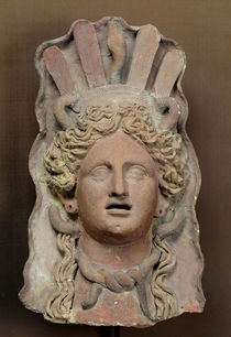 Punic mask representing Demeter by Roman