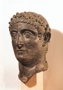 Head of Constantine the Great  by Roman