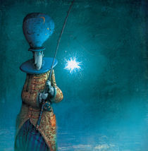 Pescador de estrellas by Poly Bernatene