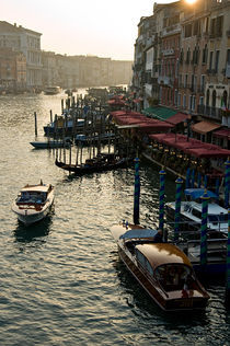 The Grand Canal in Venice by Thierry  Dehesdin