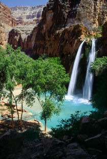 Havasu Falls, Arizona by Tom Dempsey