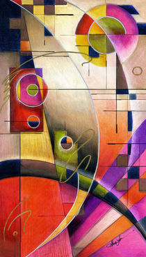 Kandinsky Cadence by Alma  Lee