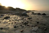 Sonnenuntergang am Ostseestrand von Max Nemo Mertens