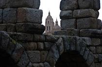 El Acueducto y la Catedral by Jose María Palomo de la Fuente