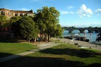 Place de le Daurade, Toulouse, France by bob bingenheimer