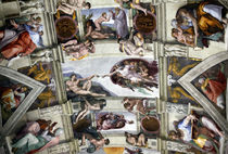 Sistine Chapel by Brent Foster