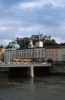 The Hohensalzburg fortress in Salzburg, Austria by bob bingenheimer