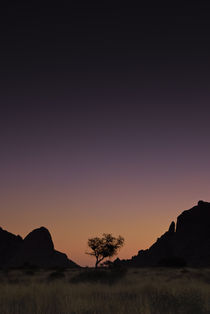 Spitzkoppe Purple Sunset by Russell Bevan Photography