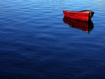 red rowboat von Ed Book