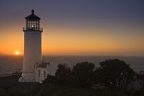 North Point Lighthouse USA Pacific Coast by Ed Book