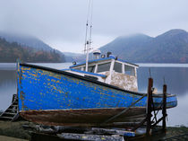 Old Lobster Boat by Paul Lemke