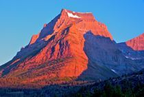 Going to Sun Mountain - Glacier National Park - Montana - USA by Ken Dvorak
