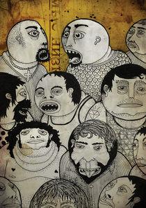 Caras redondas by Juan Weiss