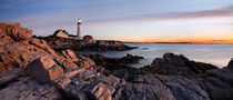 Portland Head Light Dawn by Paul Lemke