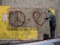 Peace + Love von James Menges