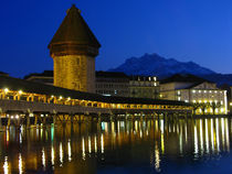 Lucerne, Switzerland Europe von Marty Portier