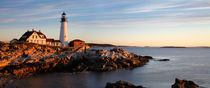 Morning At The Portland Head Light by Paul Lemke