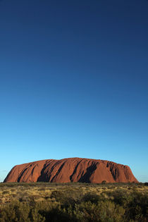 Uluru Blue by Mike Greenslade