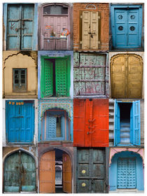 Doors of India by James Menges