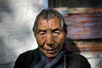Tibetan Woman by Danny Ghitis