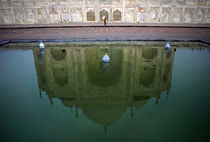 Taj Mahal Reflection Pool by Danny Ghitis