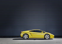Yellow-Lamborghini-Gallardo by Philip Elberling