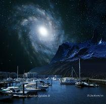 Galaxies Edge Harbor by David Jackson