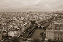 Paris From The Sky by Pete Saloutos