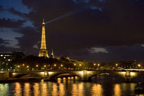 Paris At Night by Pete Saloutos