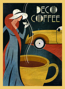 Café Art Deco II by Benjamin Bay