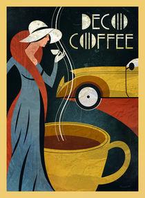 Café Art Deco II von Benjamin Bay