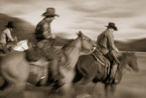 Sepia Cowboys by Pete Saloutos