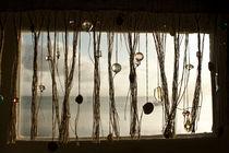Beach behind the window by Ricardo Ribas